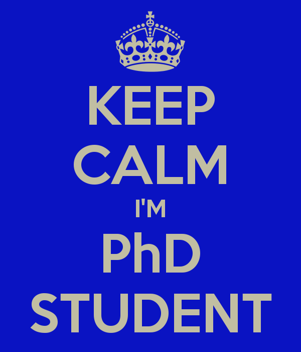 keep calm i m phd student